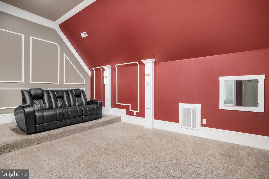 Upper Level Theater Room - 10403 TREATY CT, SPOTSYLVANIA
