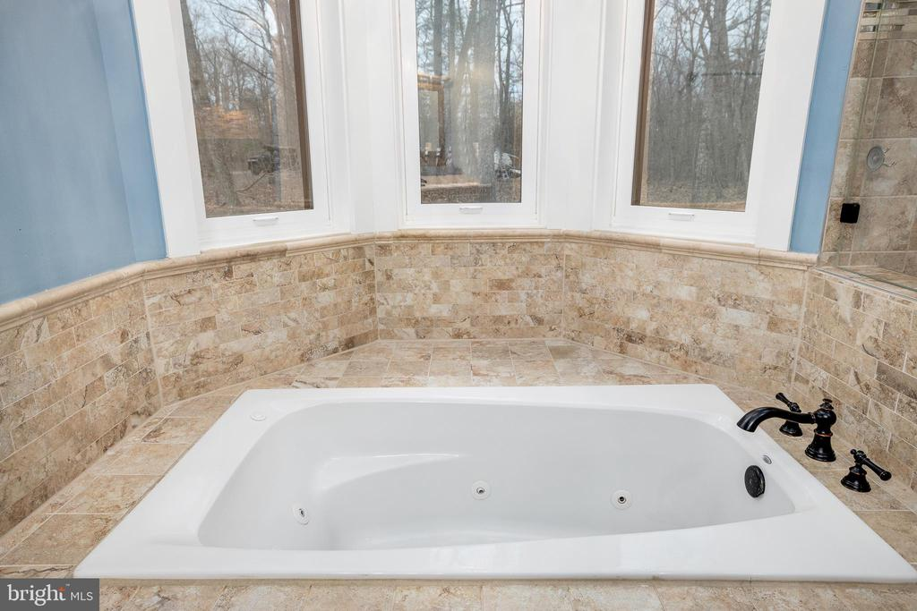 Master Bedroom Jetted Tub - 10403 TREATY CT, SPOTSYLVANIA