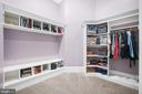 Master Bedroom Walk In Closet - 10403 TREATY CT, SPOTSYLVANIA