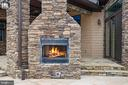 Outside Fireplace - 10403 TREATY CT, SPOTSYLVANIA