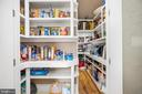 Pantry - 10403 TREATY CT, SPOTSYLVANIA
