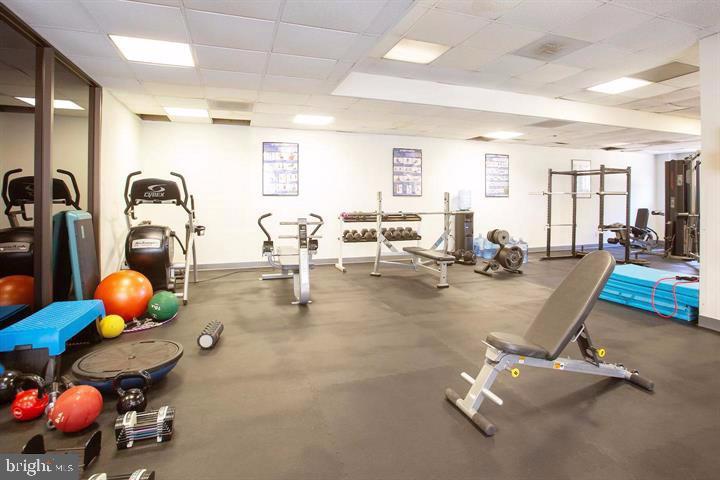 Fitness Room - 2111 WISCONSIN AVE NW #PH7, WASHINGTON