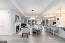 Open Floorplan Living Room - 8111 RIVER RD #125, BETHESDA