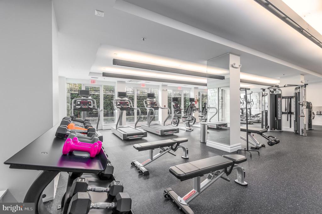Fitness Center - 8111 RIVER RD #125, BETHESDA