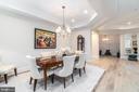 Formal Dining Room - 8111 RIVER RD #125, BETHESDA