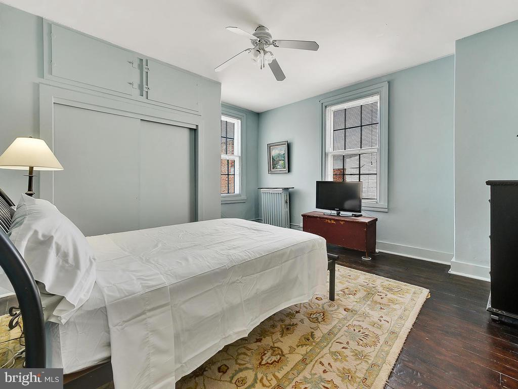 Fourth bedroom, secluded and private - 121 W 2ND ST, FREDERICK