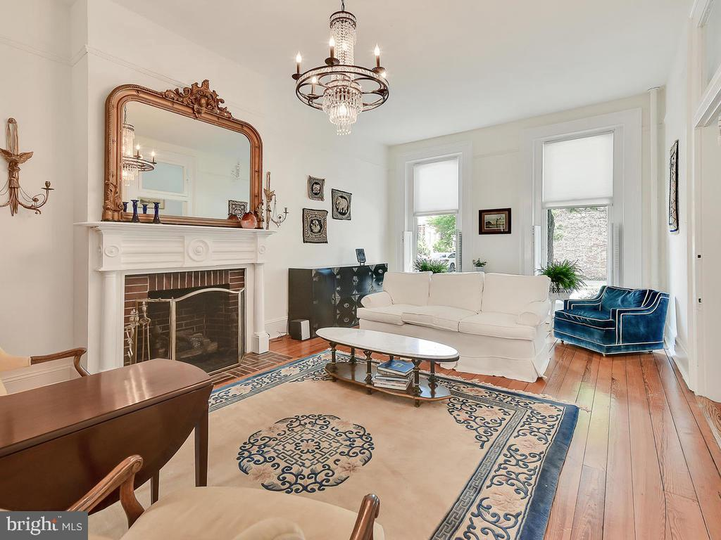 Southern facing, allows the sunlight to flow! - 121 W 2ND ST, FREDERICK