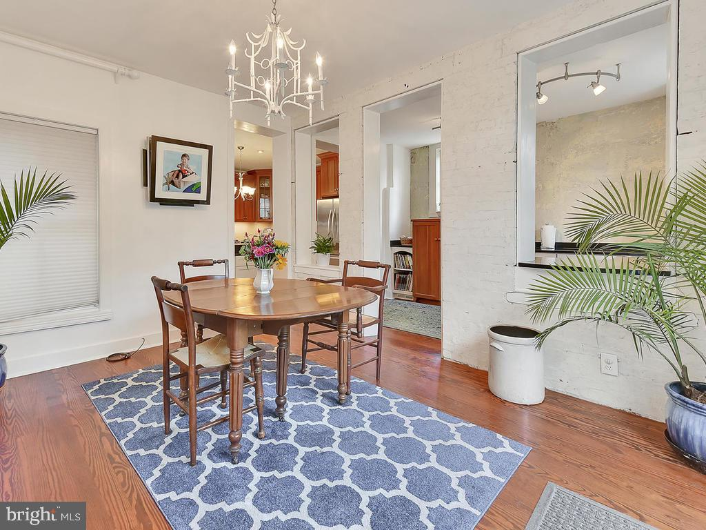 Open, bright and airy! - 121 W 2ND ST, FREDERICK
