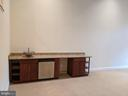 Basement Family Room Bar with Dishwasher - 18213 CYPRESS POINT TER, LEESBURG