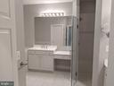 Updated Master Bathroom  - Brushed Nickel  Finish - 18213 CYPRESS POINT TER, LEESBURG