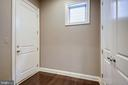 Double Closet in Rear Hall Entry off Kitchen - 20689 HOLYOKE DR, ASHBURN