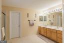 Luxury bathroom with double vanity. - 20226 BROAD RUN DR, STERLING