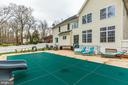 Expansive Rear Patio and Inground Pool - 20226 BROAD RUN DR, STERLING