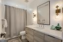 Full Bathroom off Bedroom #2 - 1710 10TH ST NW #2, WASHINGTON