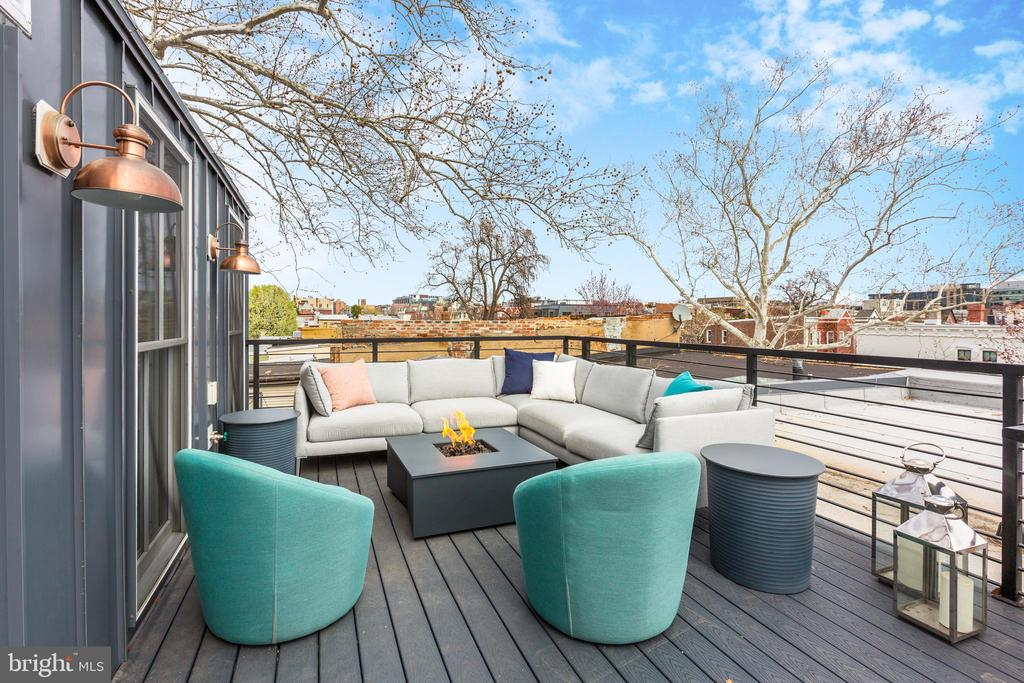 Private Roof Deck - 1710 10TH ST NW #2, WASHINGTON