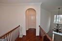 Upper Hallway with Hardwood Floor - 2976 TROUSSEAU LN, OAKTON