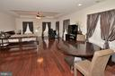 Hardwood Floor in Master Bedroom - 2976 TROUSSEAU LN, OAKTON
