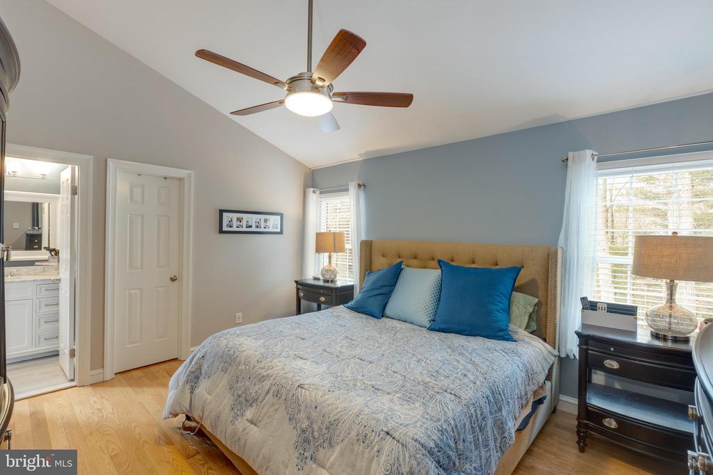 Master bedroom = Suite Retreat - 8206 CHERRY RIDGE RD, FAIRFAX STATION