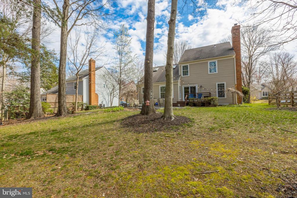 There is value in a lot like this beyond dollars - 8206 CHERRY RIDGE RD, FAIRFAX STATION