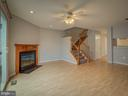 Fireside Family Room, Whole House Freshly Painted - 20422 SUMMERSONG LN, GERMANTOWN
