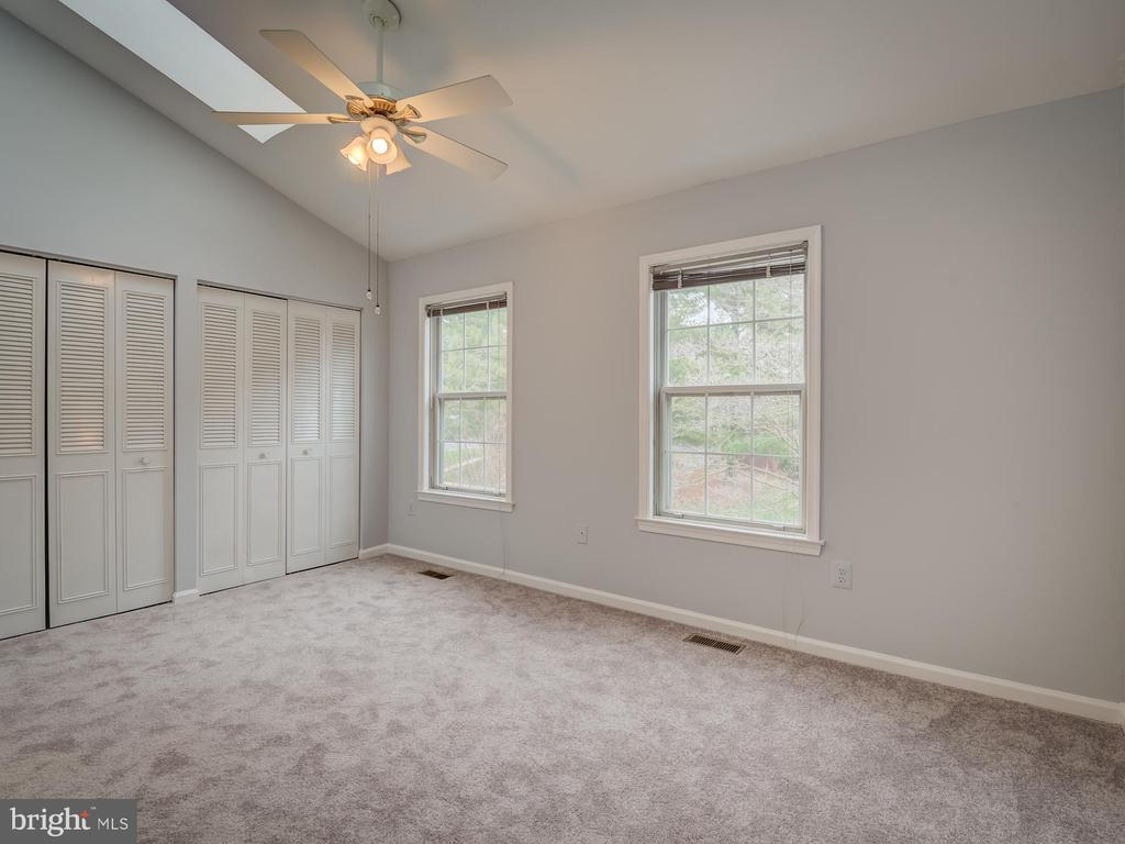 Vaulted and Skylights in the Master Bedroom - 20422 SUMMERSONG LN, GERMANTOWN