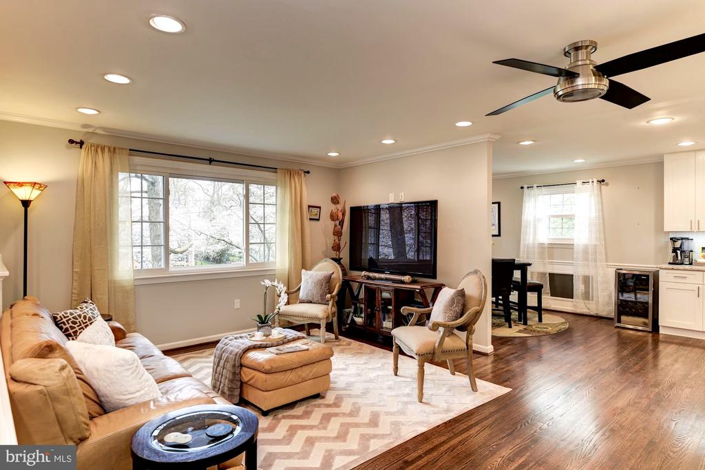 Plenty of Space Allows for Flexible Use - 8902 TRANSUE DR, BETHESDA