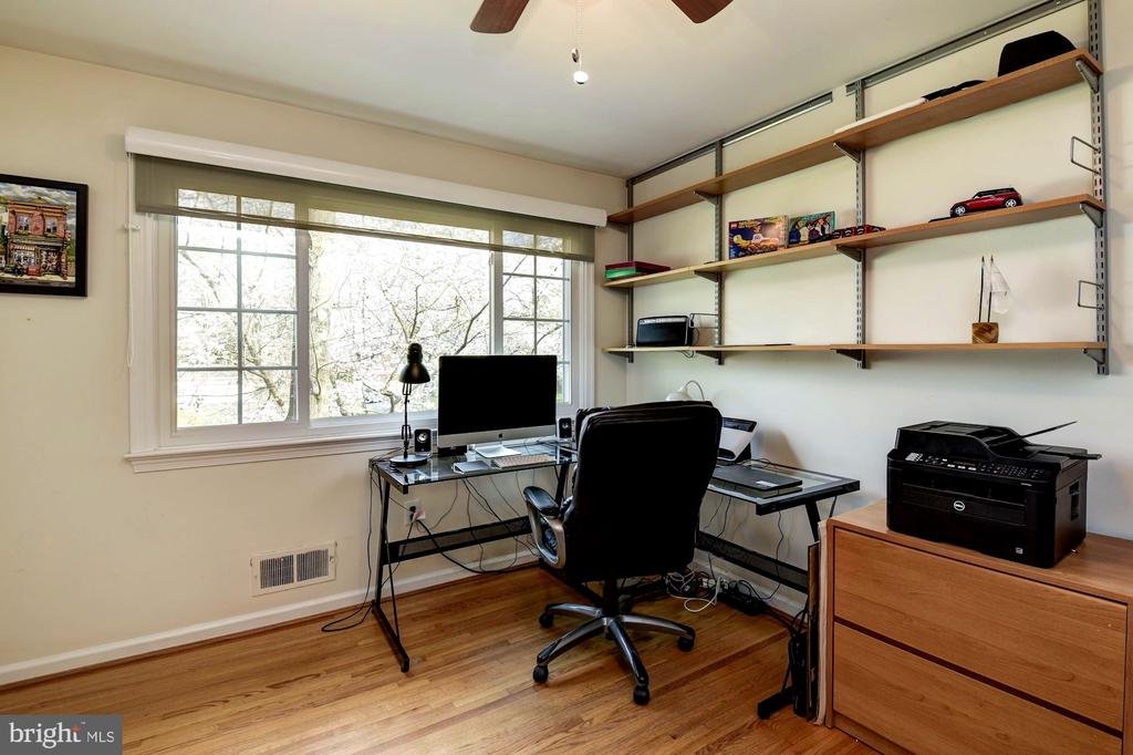 Massive Windows Allow for Plenty of Sun in Bedroom - 8902 TRANSUE DR, BETHESDA