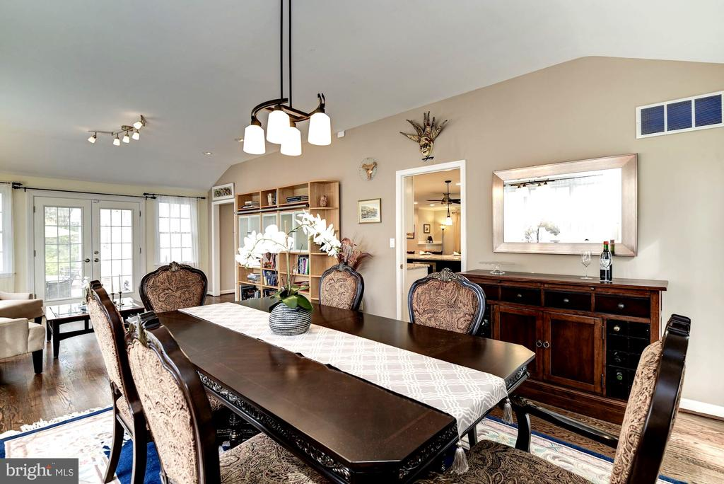 Use This Space for a Massive Family Room As Well! - 8902 TRANSUE DR, BETHESDA