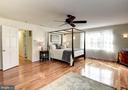 Master Bedroom Features Gleaming Hard Wood Floors - 8902 TRANSUE DR, BETHESDA