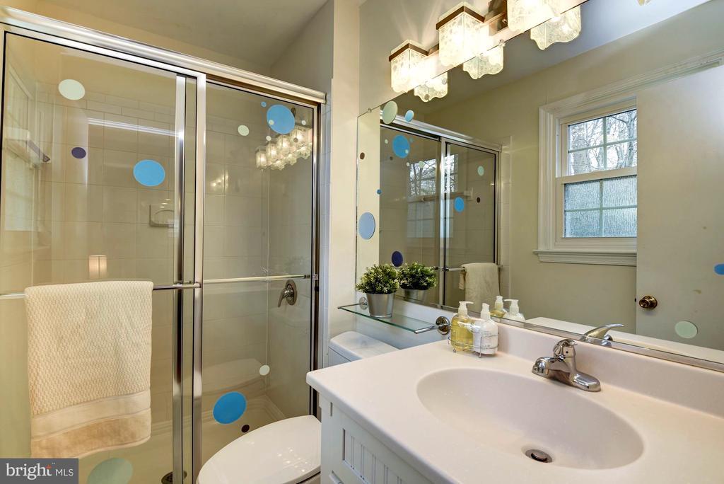 En-Suite Bathroom for First Bedroom - 8902 TRANSUE DR, BETHESDA