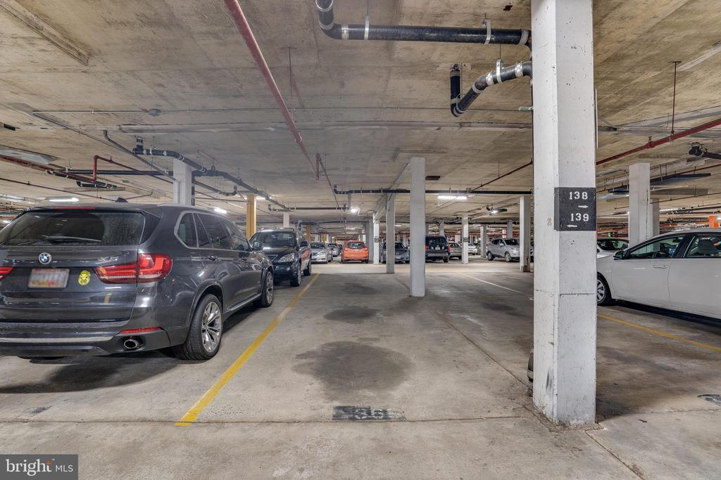 Assigned Parking Space in Garage - 102 MONROE ST #101, ROCKVILLE