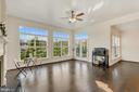 Open spaces drenched in natural light off kitchen! - 43988 RIVERPOINT DR, LEESBURG