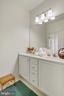 Separate vanity in second hall bath. - 43988 RIVERPOINT DR, LEESBURG