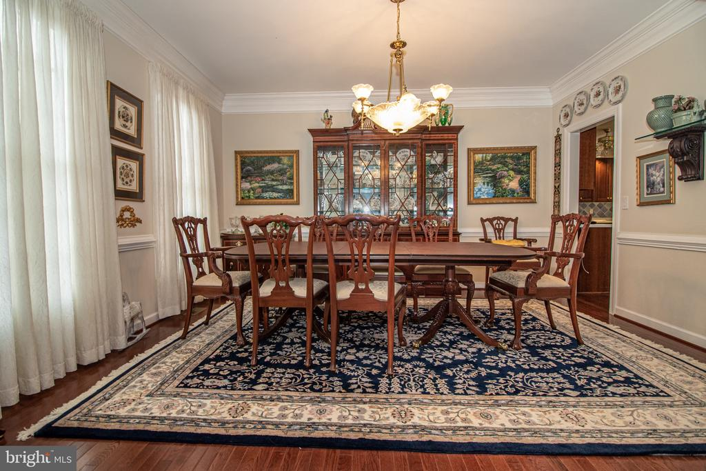 Formal Dining Room - 25282 KENNEBEC DR, CHANTILLY