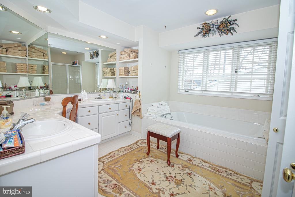 Upper Level Master Suite Bathroom - 25282 KENNEBEC DR, CHANTILLY