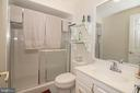 Lower Level Full Bathroom - 25282 KENNEBEC DR, CHANTILLY
