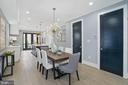 Dining Room and Powder Room - 2217 FLAGLER PL NW, WASHINGTON