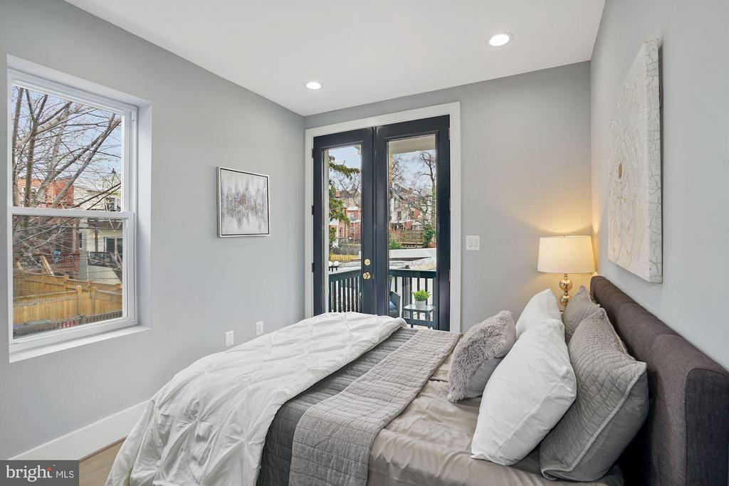 2nd Bedroom - 2217 FLAGLER PL NW, WASHINGTON
