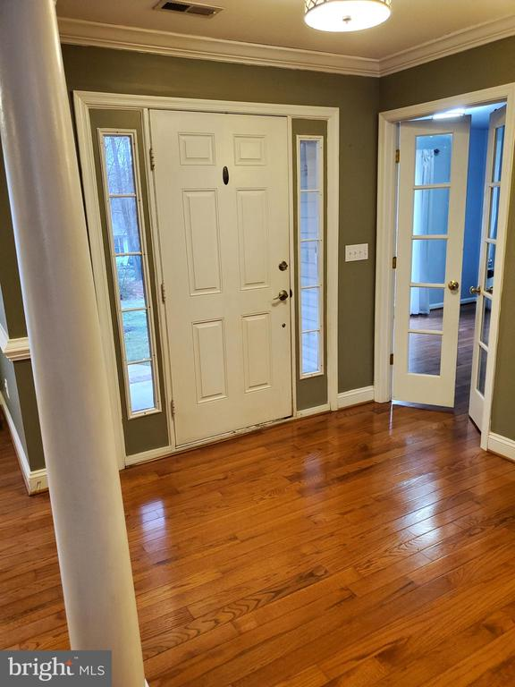 Open Foyer-Doors to Den - 403 WESTOVER PKWY, LOCUST GROVE