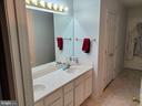 Master Bath Double Sinks - 403 WESTOVER PKWY, LOCUST GROVE