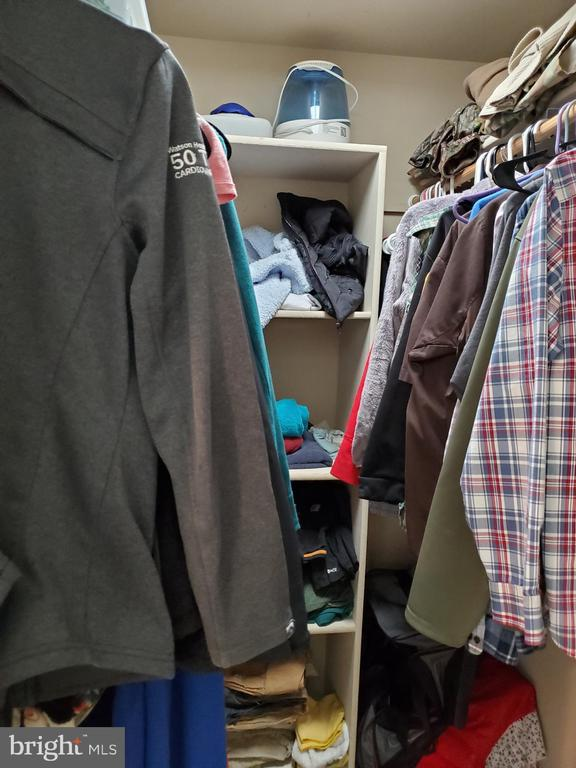 Master Walk-In Closet - 403 WESTOVER PKWY, LOCUST GROVE