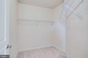 Bedroom #2 (Walk-In Closet) - 12001 MARKET ST #150, RESTON