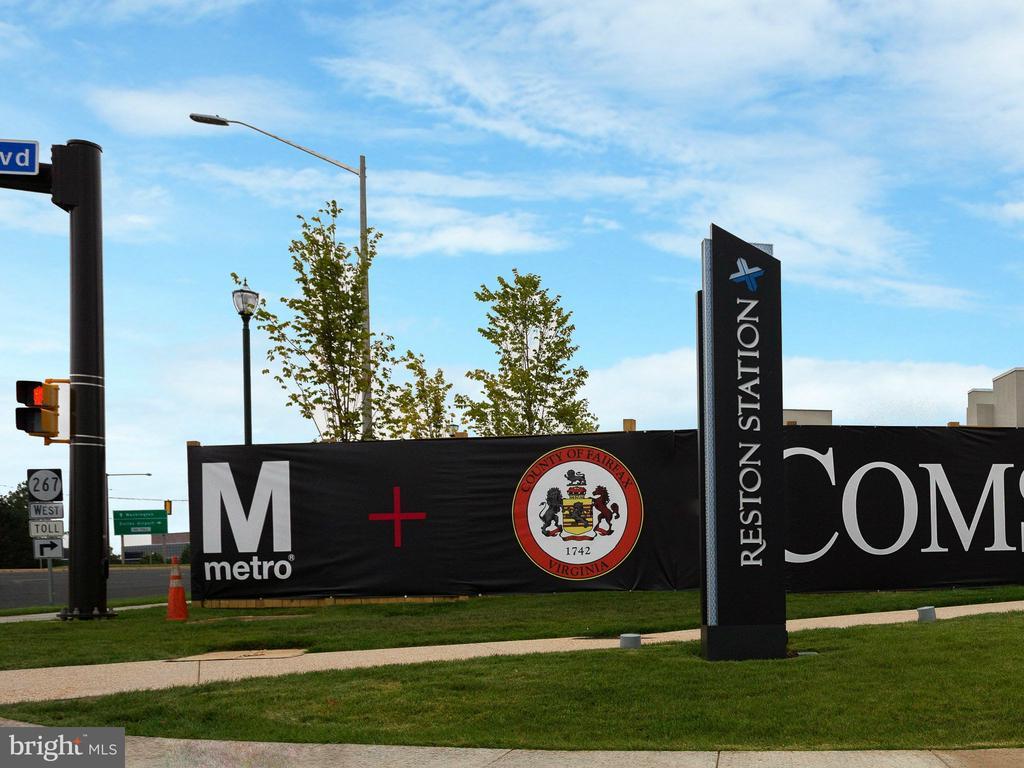 Reston Metro Station (2 Blocks from Condo) - 12001 MARKET ST #150, RESTON