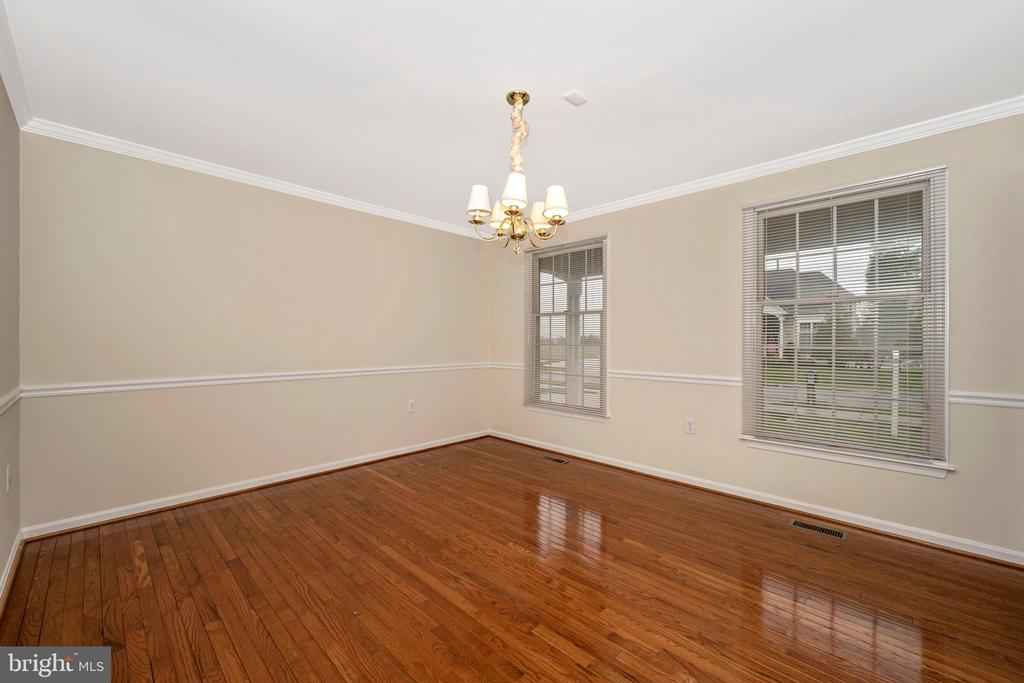 Separate dining room - 2505 UNDERWOOD LN, ADAMSTOWN