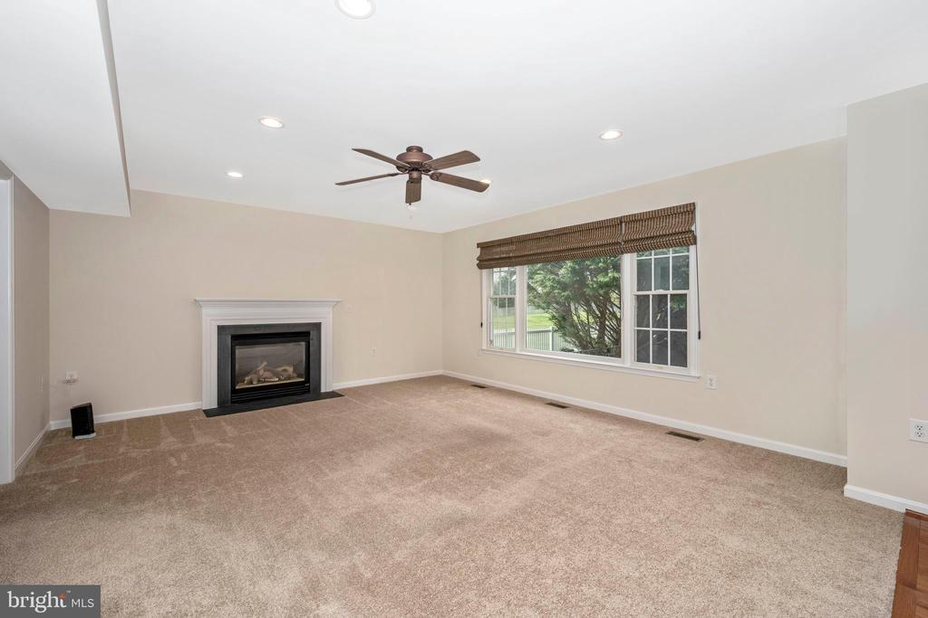 Family room features a gas fireplace - 2505 UNDERWOOD LN, ADAMSTOWN