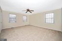 Spacious master bedroom - 2505 UNDERWOOD LN, ADAMSTOWN