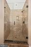 Separate shower in the master bath - 2505 UNDERWOOD LN, ADAMSTOWN