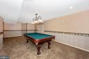 Spacious lower level family room - 2505 UNDERWOOD LN, ADAMSTOWN