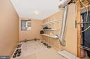 Exercise room on the lower level - 2505 UNDERWOOD LN, ADAMSTOWN