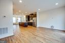 Large open living space - 8900 ENGLEWOOD FARMS DR, MANASSAS